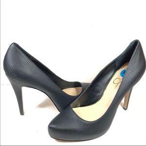 NWOB JESSICA SIMPSON JP TOBEE Black Heels Shoes